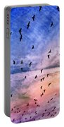 Meet Me Halfway Across The Sky 2 Portable Battery Charger by Angelina Vick