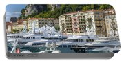 Mega Yachts In Port Of Nice France Portable Battery Charger