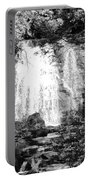 Meigs Falls Smoky Mountains Bw Portable Battery Charger
