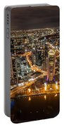 Melbourne At Night Vi Portable Battery Charger