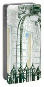 Mellvile Street Doorway Portable Battery Charger