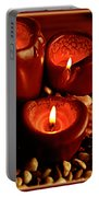 Melted Candles Portable Battery Charger