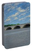 Memorial Bridge After The Storm Portable Battery Charger