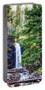 Memorial Falls In Montana Portable Battery Charger