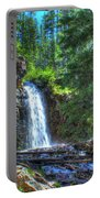 Memorial Falls With Sky Portable Battery Charger