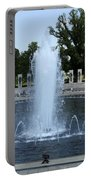 Memorial Fountain Washington Dc Portable Battery Charger