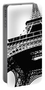Eiffel Tower Silhouette Portable Battery Charger