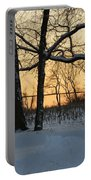 Memories Of Winter Portable Battery Charger
