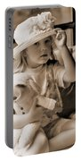 Memories Out Of Time Portable Battery Charger