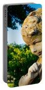 Memphis Elmwood Cemetery - Boy Angel Portable Battery Charger