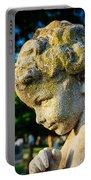Memphis Elmwood Cemetery - Boy Angel Vertical Portable Battery Charger