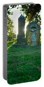 Memphis Elmwood Cemetery - Backlit Grave Stones Portable Battery Charger