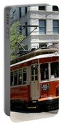 Memphis Trolley On Main Street Portable Battery Charger