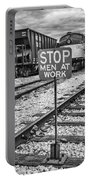 Men At Work Portable Battery Charger