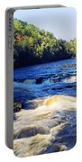 Menominee River At Piers Gorge, Upper Portable Battery Charger