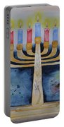 Menorah Portable Battery Charger