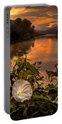 Meramec River At Chouteau Claim Portable Battery Charger