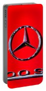 Mercedes 300 Sl Emblem -0121c Portable Battery Charger