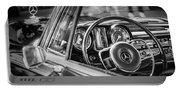 Mercedes-benz 250 Se Steering Wheel Emblem Portable Battery Charger