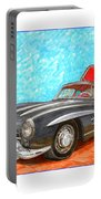Mercedes  Benz 300 S L Gull Wing Portable Battery Charger