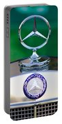 Mercedes Benz Hood Ornament 3 Portable Battery Charger