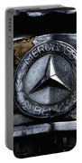 Mercedes Benz Shabby Chic Portable Battery Charger