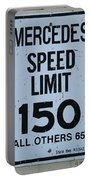 Mercedes Speed Limit 150 Portable Battery Charger