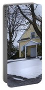 Merion Meeting House - Narberth Pa Portable Battery Charger by Bill Cannon