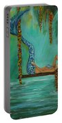 Mermaids Relaxing Evening Portable Battery Charger