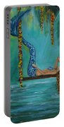 Mermaids Relaxing Morning Portable Battery Charger