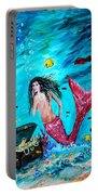 Mermaids Treasure Portable Battery Charger