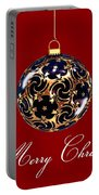 Merry Christmas Bauble Portable Battery Charger