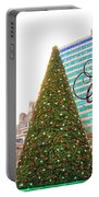 Merry Christmas From Philadelphia Portable Battery Charger