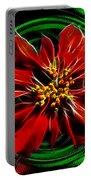 Merry Xtmas - Poinsettia Portable Battery Charger