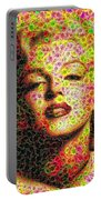 Marilyn - Colored Diamonds Portable Battery Charger