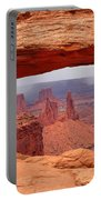 Mesa Arch In Canyonlands National Park Portable Battery Charger
