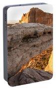 Mesa Arch Sunrise 6 - Canyonlands National Park - Moab Utah Portable Battery Charger