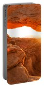 Mesa Arch Sunrise Portable Battery Charger