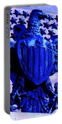 Metal American Eagle Symbol Portable Battery Charger