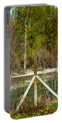 Methow River Springtime Portable Battery Charger