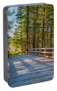 Methow Valley Community Trail At Wolf Creek Bridge Portable Battery Charger
