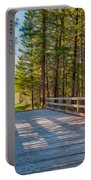 Methow Valley Community Trail At Wolf Creek Bridge Portable Battery Charger by Omaste Witkowski