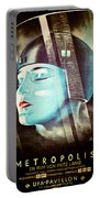 Metropolis Poster Portable Battery Charger
