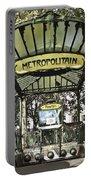 Metropolitain Entrance Paris Portable Battery Charger