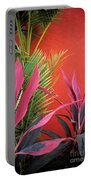 Mexican Garden Stil Life Portable Battery Charger