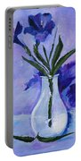 Mexican Petunias Portable Battery Charger