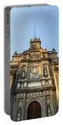 Mexico City Cathedral Facade Portable Battery Charger