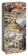 Mexico City Fine Arts Museum Portable Battery Charger by Jess Kraft