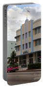 Miami Art Deco Portable Battery Charger