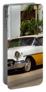Miami Beach Classic Car Portable Battery Charger